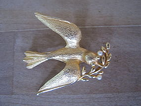 Peace Dove Pin