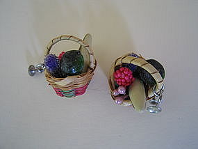 Vintage Fruit Earrings