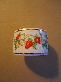 Avon Strawberry Napkin Ring