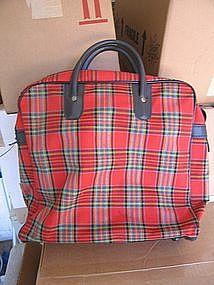 Vintage Plaid Bag