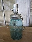 Ball Jar Lamp