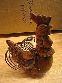 Treasure Craft Rooster Napkin Holder