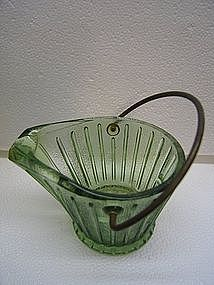 Hazel Atlas Coal Skuttle Ashtray