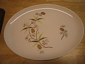Stetson Pine Cone Platter