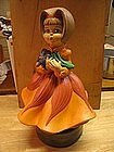 Vintage Girl Music Box