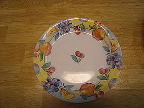 Corelle Fruit Basket Salad Plate