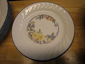 Corelle Orchard Rose Salad Plate