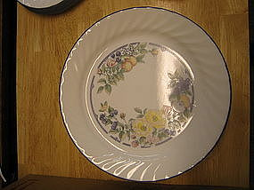 Corelle Orchard Rose Plate