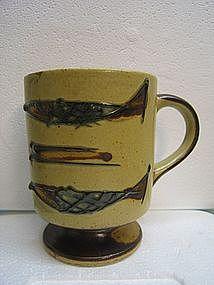 Vintage Fish Mug
