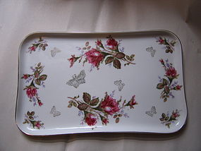 Lipper and Mann Pompadour Rose Tray