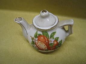 Vintage Miniature Teapot