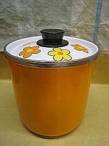 Vintage Daisy Canister