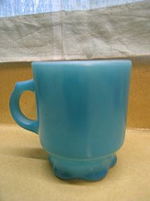 Fire King Turquoise Concord Mug