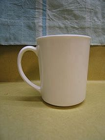 White Corning Mug