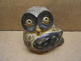 Spotted Owl Figurine