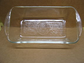 Glasbake Loaf Pan