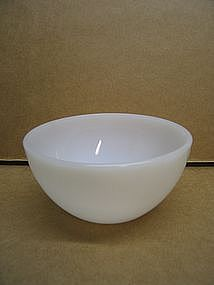 Federal Milk Glass Bowl