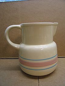 McCoy Pink Blue Pitcher.