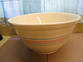 McCoy Pink Blue  Bowl  SOLD