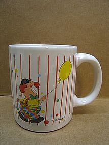 Steinbeck Clown Mug