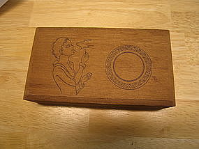 Wooden Cigar Box