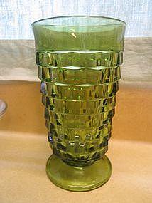 Green Cubist Glass