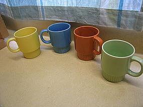 Vintage Yellow Mug from Japan