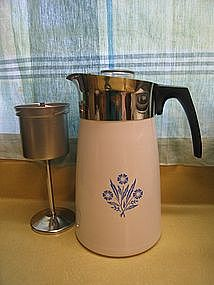 Corning Cornflower Coffee Pot
