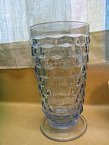 Blue Cubist Footed Tumbler