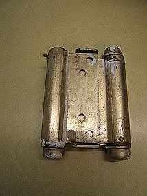 Brass Double Action Spring Hinge