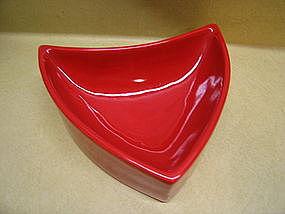 Haeger Red Dish