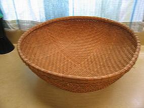 Vintage Round Basket