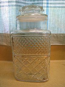 Cut Glass Canister