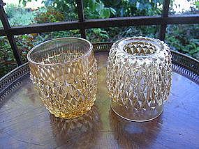 Indiana Glass  Fairy Lamp