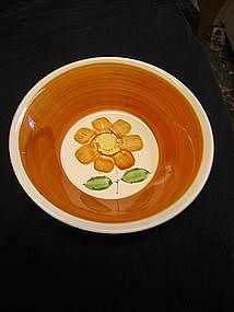Vintage Ironstone Daisy Bowl