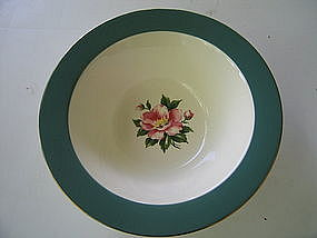 Homer Laughlin Empire Green Bowl