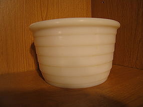 Milk Glass Mixer Bowl