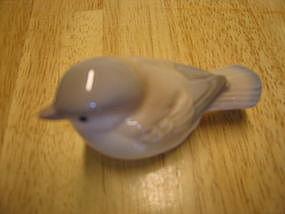 Porcelain Chickadee Figurine