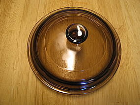 Amber Corning Pan Lid
