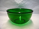 Anchor Hocking Forest Green Bowl