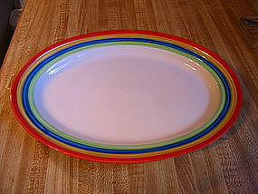 Gibson Rainbow Stripes Platter