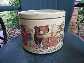 Teddy Bear Tin