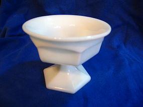 Milk Glass Sherbet Dish