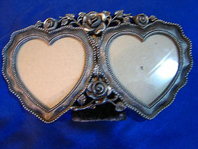 Rose Heart Picture Frame