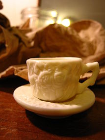 Miniature Tea Set Cup and Saucer