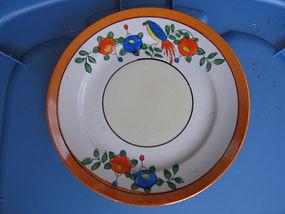Lusterware Bird Plate