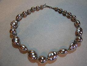 Dauplaise Silver Necklace