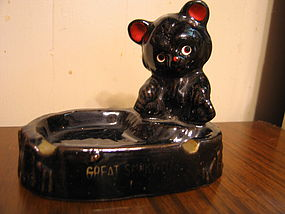 Bear Cub Ashtray