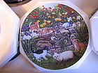 Knowles Higgins Bond Flower Fancier Plate