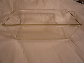 Two Quart Pyrex Loaf Pan